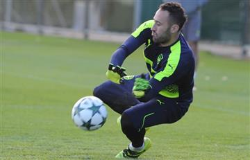 David Ospina se prepara para la Champions League con el Arsenal