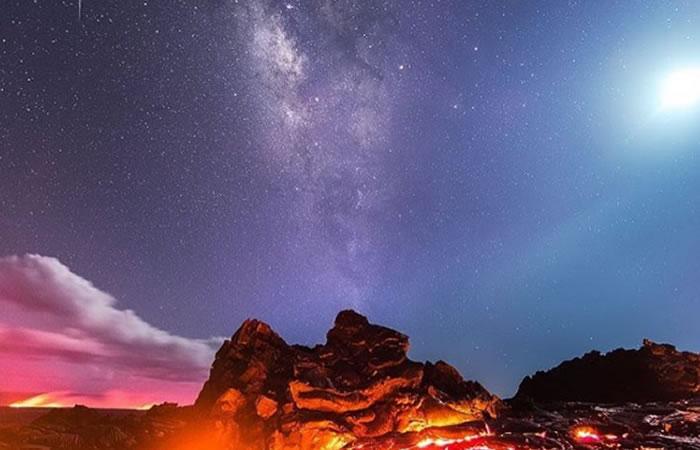 Fotógrafo captura diversos fenómenos naturales en una sola imagen