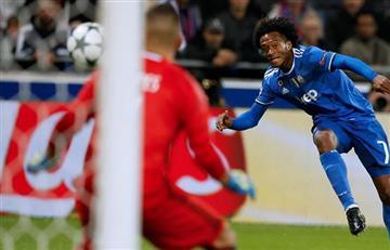 Champions League: Cuadrado nominado a mejor gol, VOTA AQUÍ