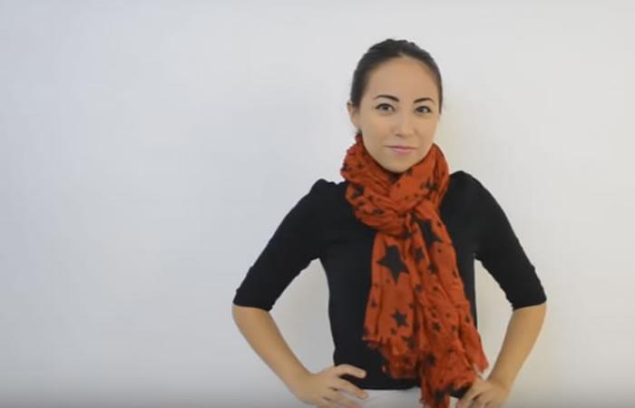 Conoce las 11 maneras de usar una pashmina