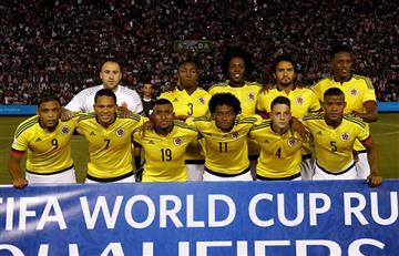 La selección Colombia baja en el ránking de la FIFA