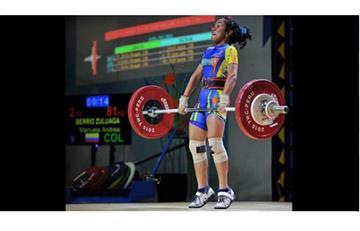 Manuela Berrío: Campeona Mundial de pesas