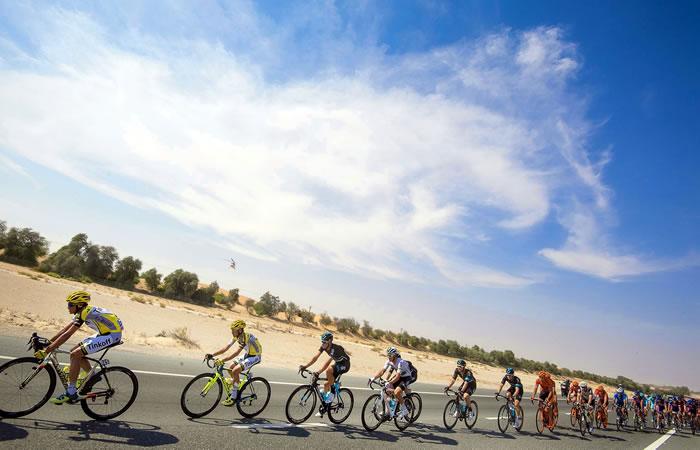 Tour Abu Dhabi. Foto: EFE