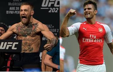 UFC: Conor McGregor es desafiado por jugador del Arsenal
