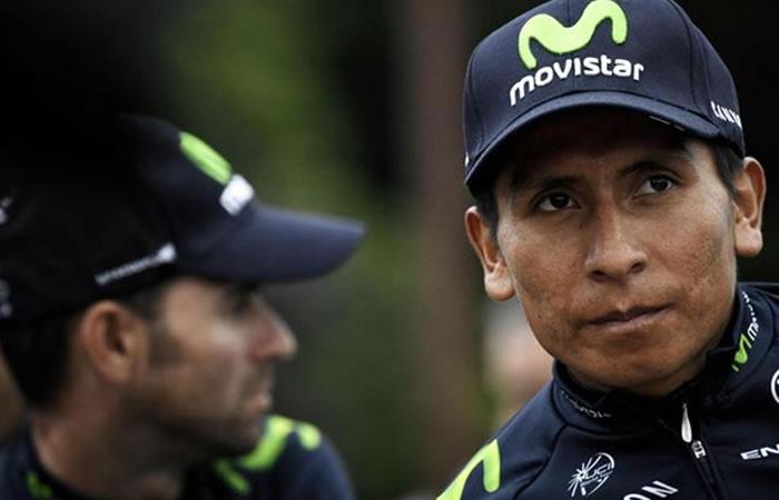 Alejandro Valverde le hace un gran regalo a Nairo Quintana