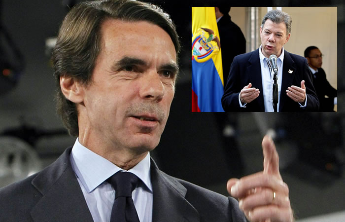 José María Aznar, expresidente español. Foto: EFE