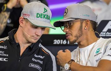 Hamilton y Rosberg van por el campeonato