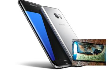 Samsung: Galaxy Note 7 es historia, explota un S7 Edge