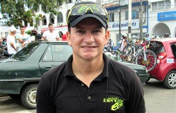 Técnico del equipo Esteban Chaves agradece apoyo de Enrique Peñalosa