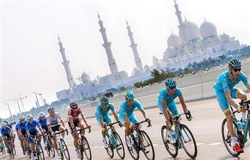 WinnerAnaconaentre los 10 primeros del Tour de AbuDhabi