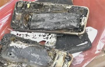 Apple: iPhone 7 explota e incendia un auto
