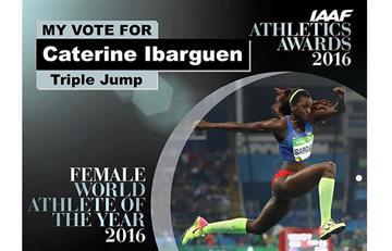 Caterine Ibargüen: así va la votación por la mejor atleta del mundo