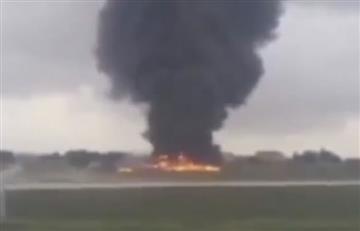 En Malta se estrelló una avioneta y dejó cinco muertos