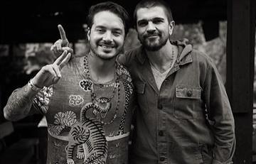 Juanes y J Balvin al parecer están haciendo un proyecto juntos