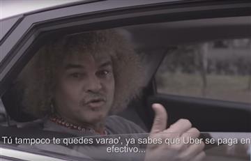 'Pibe' Valderrama: Los taxistas indignados con él por promocionar Uber