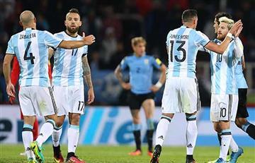 Argentina confirmó su primera baja que podría favorecer a Colombia