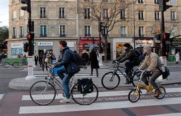 Días compensatorios para quienes lleguen en bicicleta al trabajo