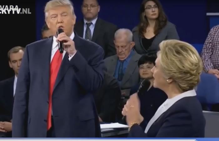 Donald Trump y Hillary Clinton cantan juntos