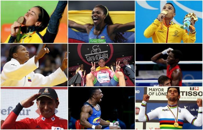 Deportista colombiano del año: Ellos son los tres nominados