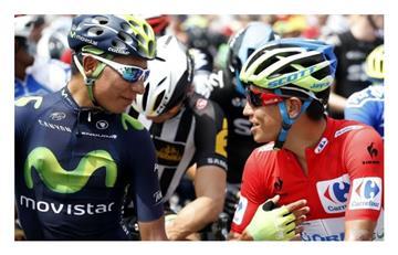 Esteban Chaves dibuja a Nairo Quintana y este es el resultado