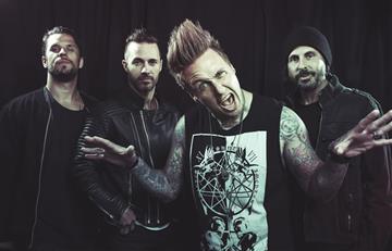 Papa Roach: Vendrá a su primer concierto en Colombia