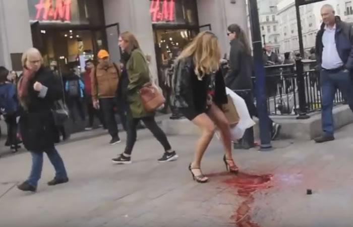 YouTube: Esta mujer con su periodo sufre el peor accidente de su vida