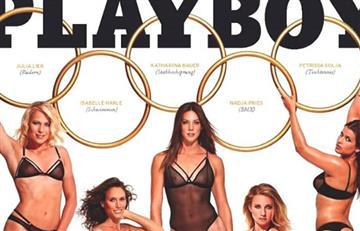 Cinco deportistas olímpicas alemanas se desnudan para Playboy