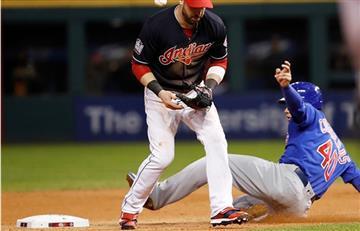 MLB: Indios caen ante Cachorros y empatan Serie Mundial