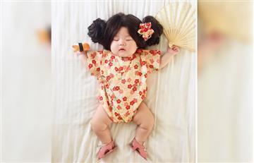 Instagram: Esta bebé es proclamada la reina de Halloween