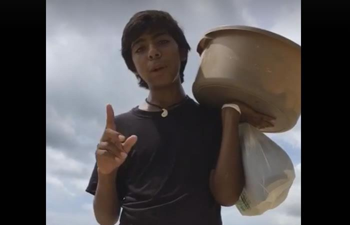 Multimillonario busca al mejor vendedor de empanadas