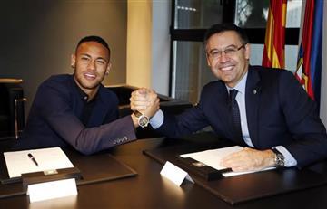 Neymar estuvo a punto de firmar con el Real Madrid