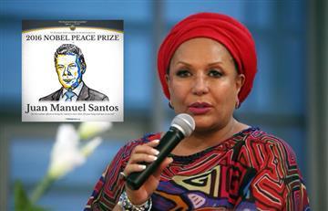 Piedad Córdoba acompañaría a Santos a recibir el Premio Nobel