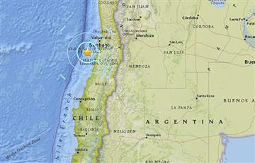 Sismo de 5,9 sacude la costa de Chile