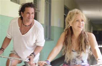 Carlos Vives y Shakira se alistan para los American Music Awards