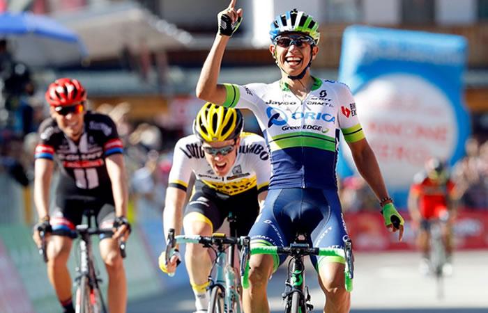 Esteban Chaves se decide entre el Tour de Francia y el Giro de Italia