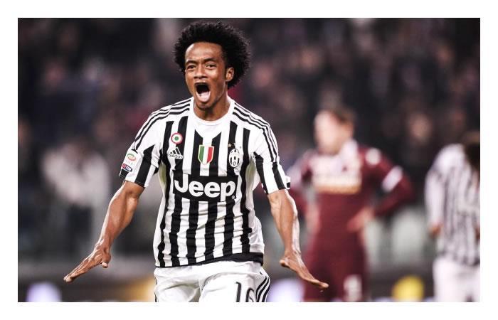 Cuadrado no va de titular con la Juventus ante el Nápoles