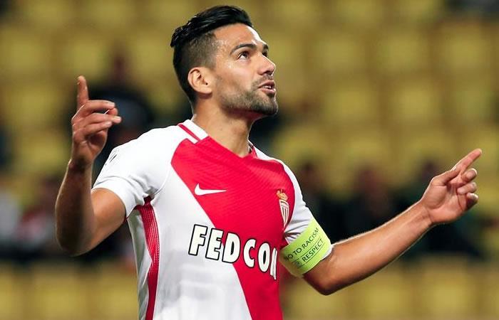 Falcao jugó 24 minutos en el empate del Mónaco