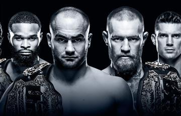 El colombiano que peleará en el UFC 205
