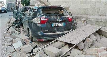 Fuerte terremoto sacudió Italia