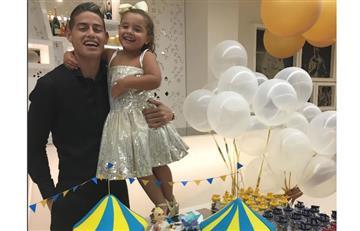 James Rodríguez: ¿De qué se disfrazó su hija Salomé?