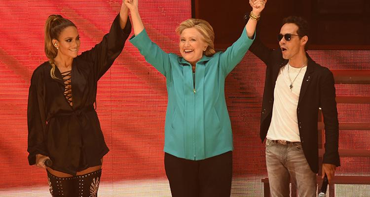 Jennifer López y Marc Anthony nuevamente juntos en el escenario