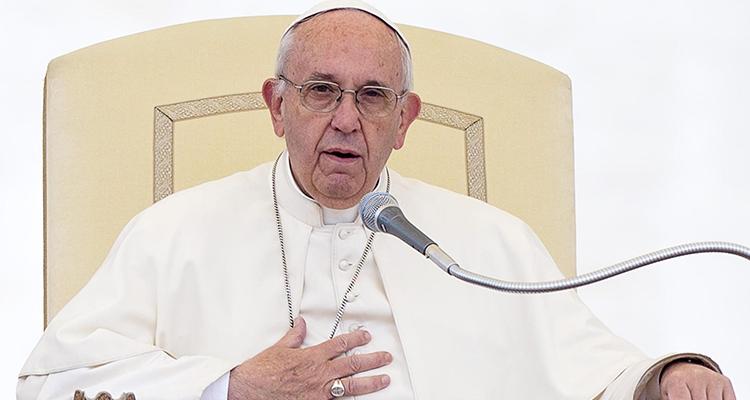 Papa Francisco expresó hoy su cercanía a los damnificados en Italia
