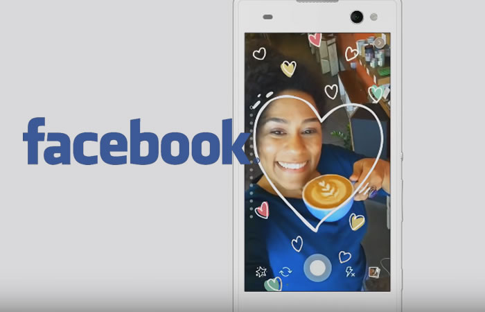 Facebook sigue imitando a Snapchat. Foto:Youtube