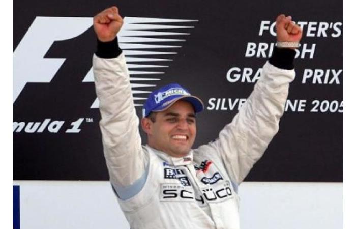 Juan Pablo Montoya vuelve al podio de la Fórmula Uno