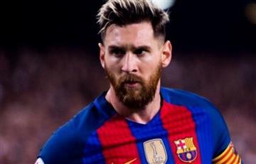 Lionel Messi, nueva víctima de Luis Suárez