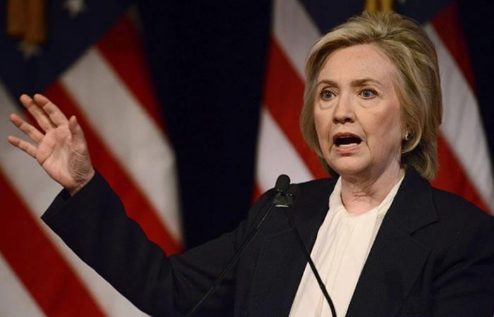 Hillary Clinton, candidata demócrata. Foto: EFE