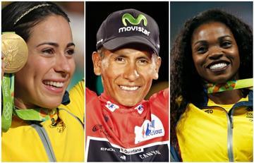 VOTA ACÁ por el deportista del año en Colombia