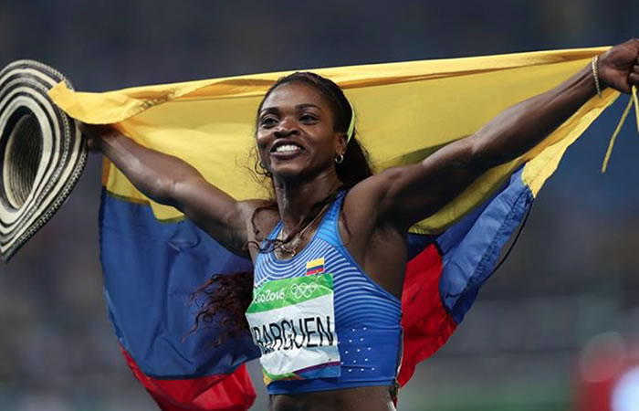 Caterine Ibargüen: El aplastante resultado con el que ganó la colombiana