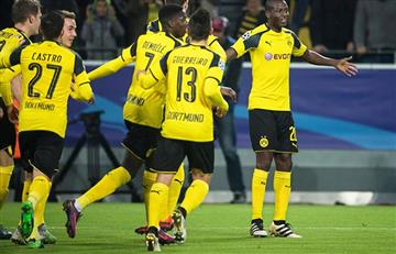 Borussia Dortmund, primero gracias a Adrián Ramos