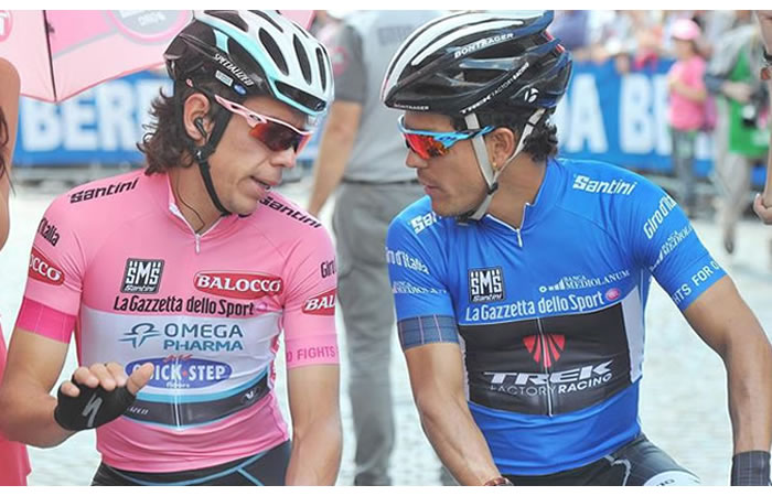 Ellos son los dos ciclistas colombianos que salen del World Tour